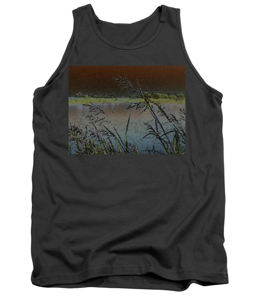 Tank Top featuring the photograph Lake  by Donna G Smith
