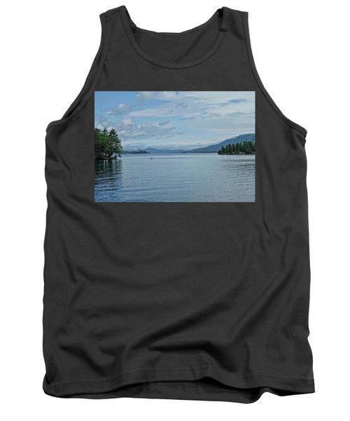 Lake George Kayaker Tank Top