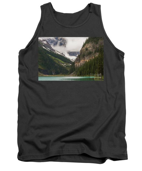 Lake Louise Peaks Above Tank Top
