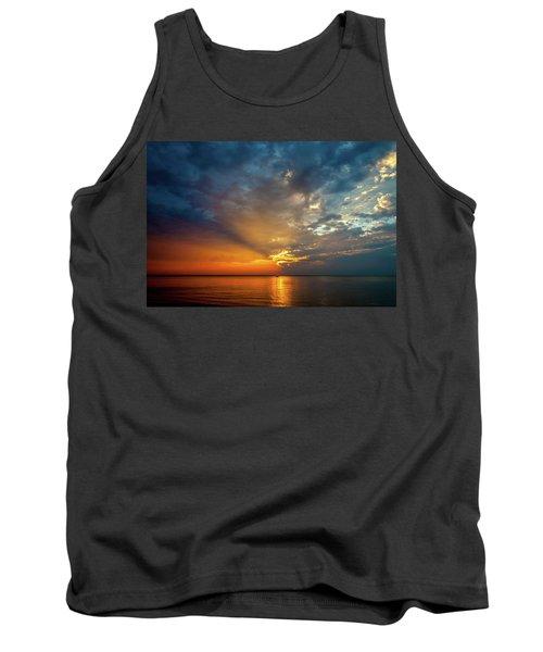 Lake Michigan Sunset Tank Top