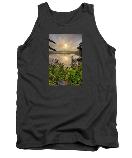 Lake Pentucket Sunrise, Haverhill, Ma Tank Top by Betty Denise