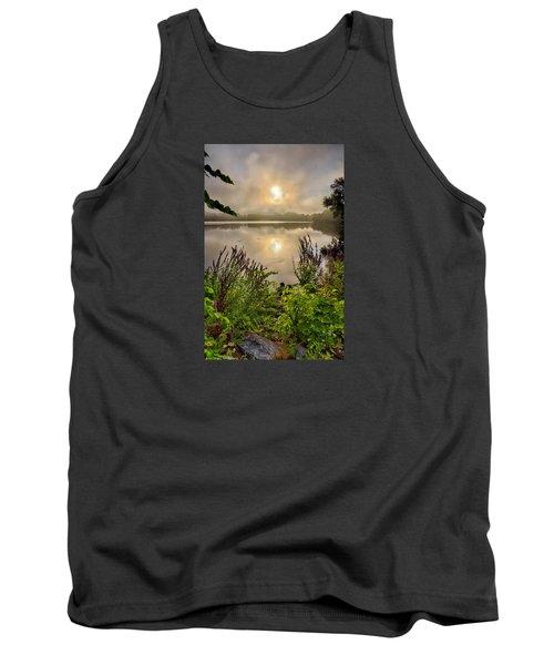 Lake Pentucket Sunrise, Haverhill, Ma Tank Top