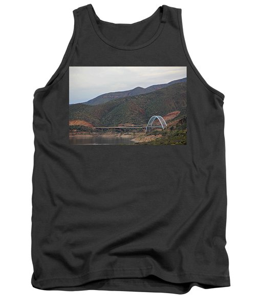 Lake Roosevelt Bridge 2 Tank Top