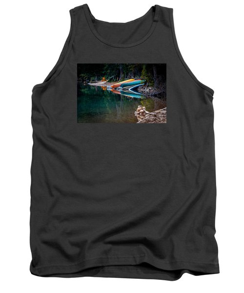 Kayaks At Rest Tank Top
