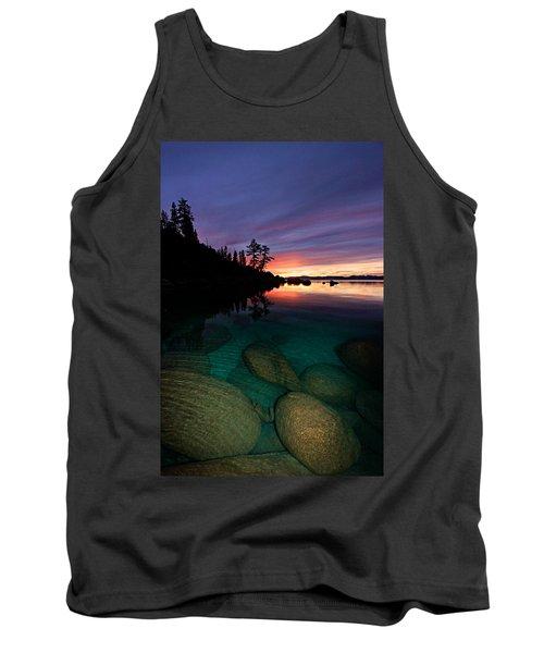 Lake Tahoe Sunset Portrait Tank Top