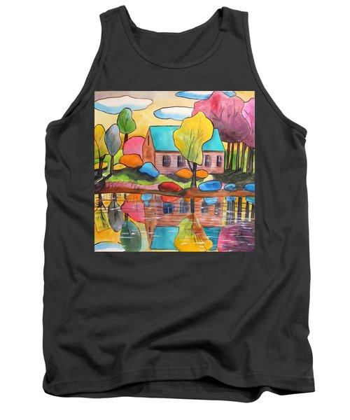 Lakeside Dream House Tank Top