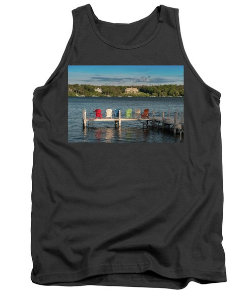 Lakeside Living Number 3 Tank Top