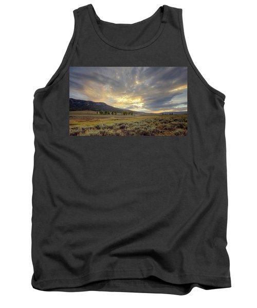 Lamar Valley Sunset Tank Top