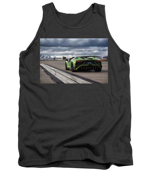 #lamborghini #aventadorsv #superveloce #roadster Tank Top