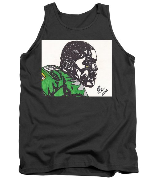 Tank Top featuring the drawing Lamicheal James 2 by Jeremiah Colley