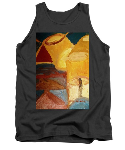 Lamps In Color Tank Top by Shea Holliman