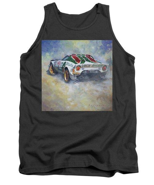 Lancia Stratos 1976 Rallye Sanremo Tank Top