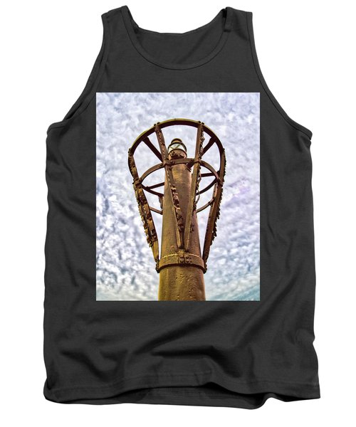 Tank Top featuring the photograph Land Buoy No 6 by Gary Slawsky