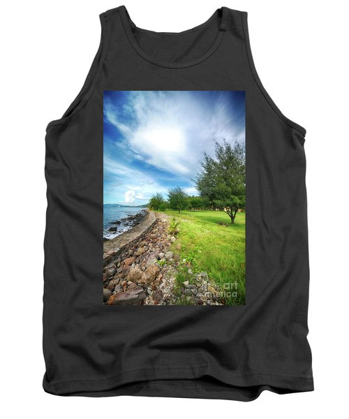 Tank Top featuring the photograph Landscape 2 by Charuhas Images