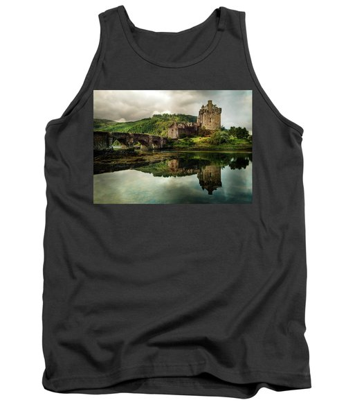 Landscape With An Old Castle Tank Top