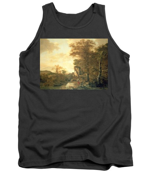 Landscape With Arched Gateway Tank Top