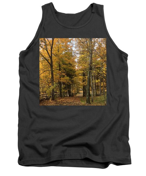 Tank Top featuring the photograph Lane by Pat Purdy