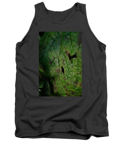 Tank Top featuring the photograph Languid Leaf by Adria Trail