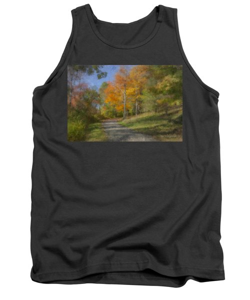 Langwater Path In October Tank Top