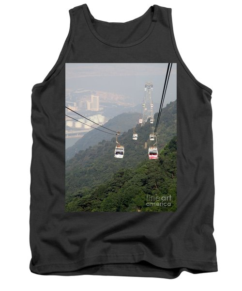 Tank Top featuring the photograph Lantau Island 53 by Randall Weidner