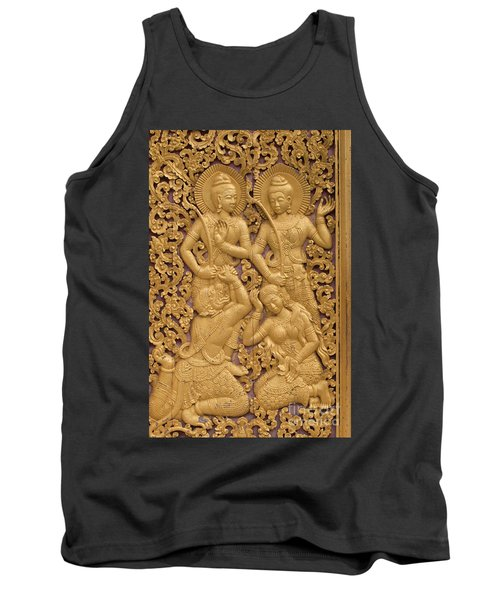 Tank Top featuring the photograph Laos_d59 by Craig Lovell
