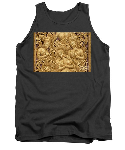 Tank Top featuring the photograph Laos_d60 by Craig Lovell