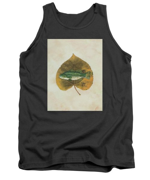 Large Mouth Bass Tank Top