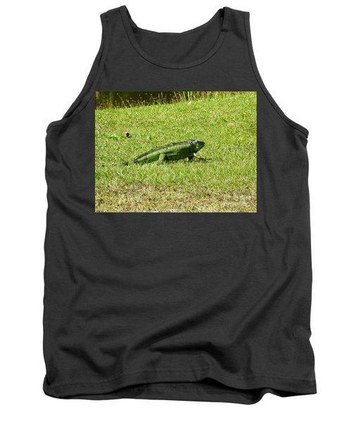 Large Sanibel Iguana Tank Top