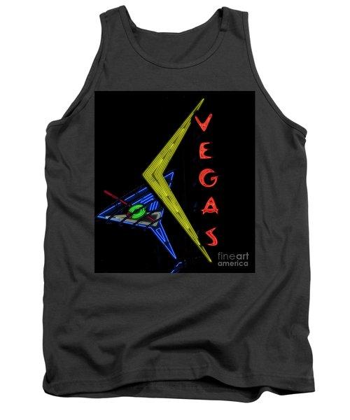 Las Vegas Neon Sign Tank Top
