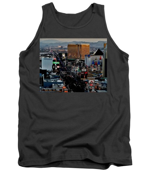 Las Vegas Strip Tank Top