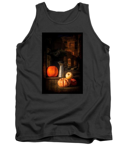 Last Autumn Sunlight Tank Top by Celso Bressan