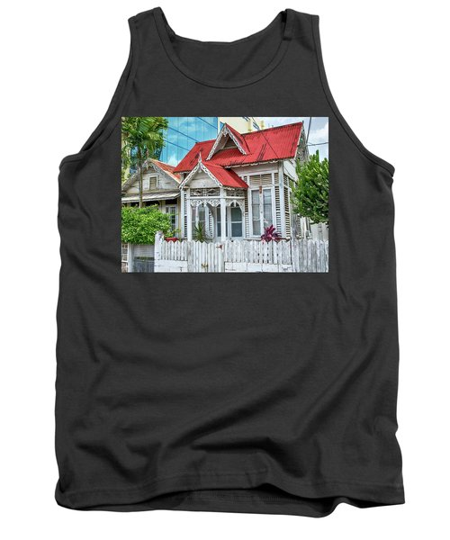 Tank Top featuring the photograph Last One Standing by Rachel Lee Young