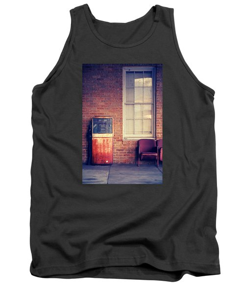 Tank Top featuring the photograph Last Pump Standing by Trish Mistric