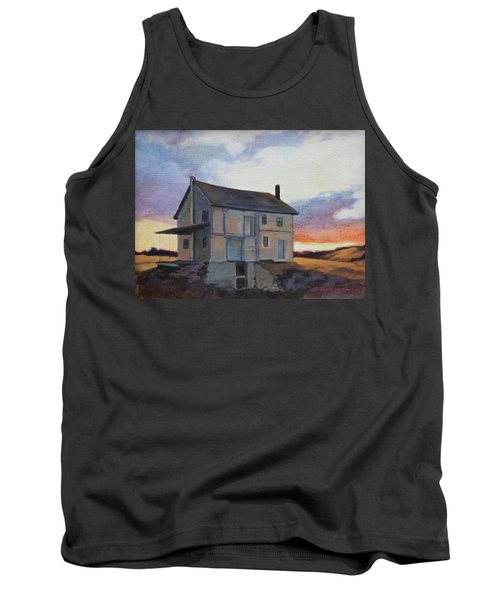 Tank Top featuring the painting Last Stand by Andrew Danielsen