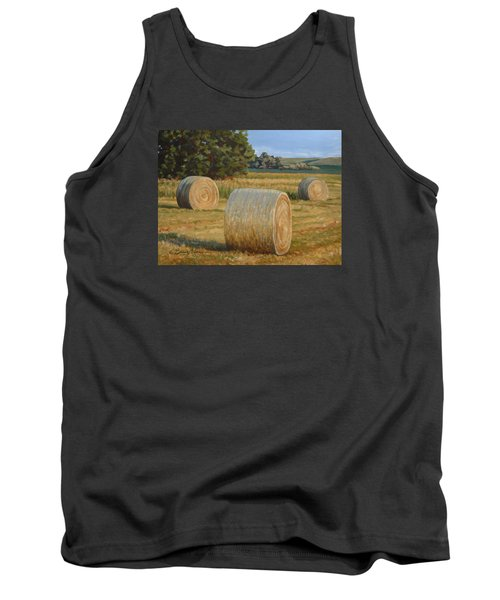 Late Afternoon Bales - Plein Air Tank Top