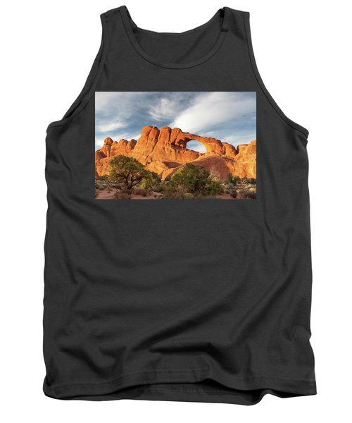 Late Afternoon Light On Skyline Arch Tank Top