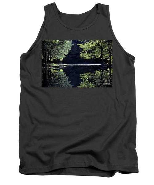 Late Afternoon Reflection Tank Top