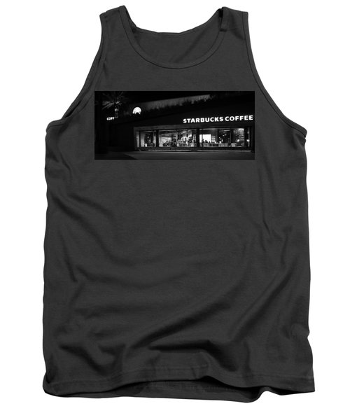 Tank Top featuring the photograph Late Night At The Bucs by David Lee Thompson
