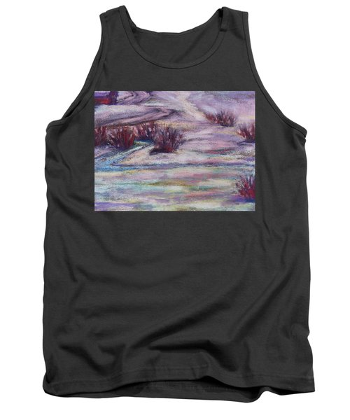 Late Winter Light Tank Top by Becky Chappell