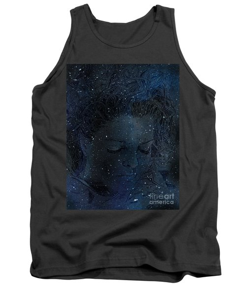 Eat At Judys Laura Palmer Carrie Page Nebula Tank Top