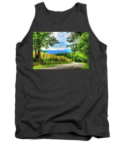 Laurel Hill View Tank Top by Dale R Carlson