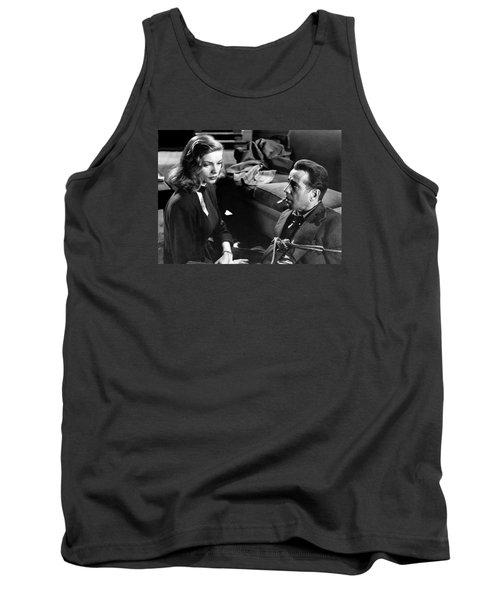 Lauren Bacall Humphrey Bogart Film Noir Classic The Big Sleep 1 1945-2015 Tank Top
