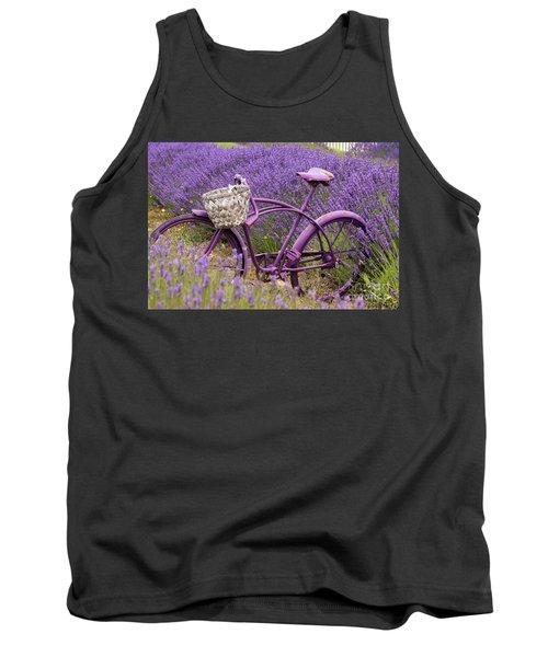 Lavender Bike Tank Top