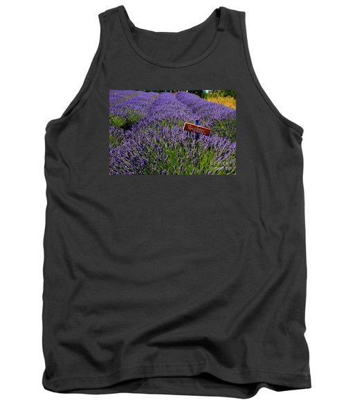 Lavender Bounty 2 Tank Top by Tanya  Searcy