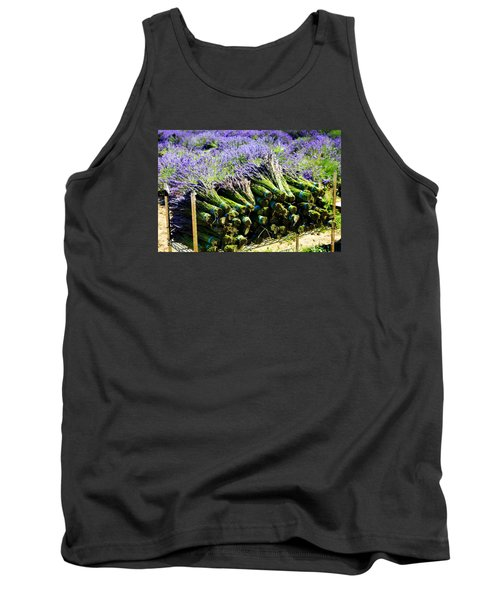 Lavender Bounty Tank Top by Tanya  Searcy