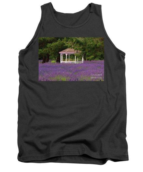Lavender Gazebo Tank Top
