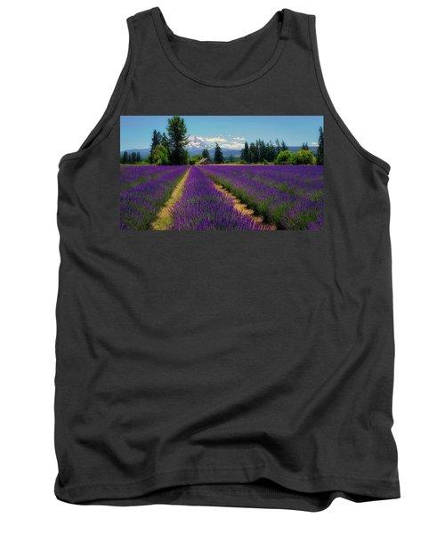 Lavender Valley Farm Tank Top