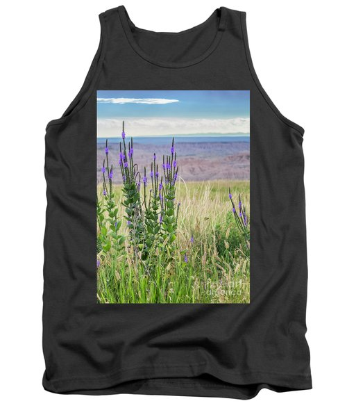 Lavender Verbena And Hills Tank Top