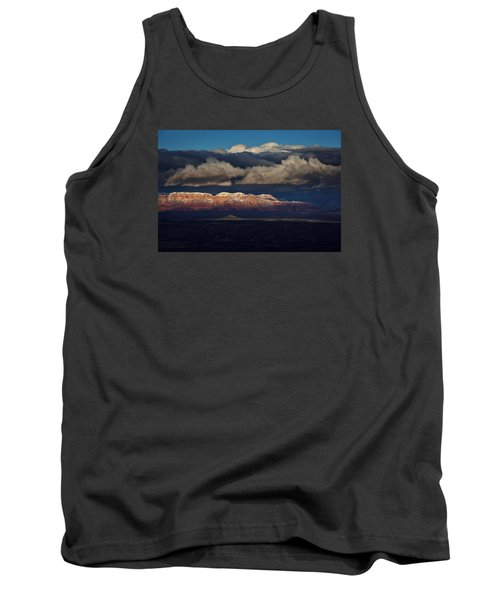 Tank Top featuring the photograph Layered Light by Ron Chilston
