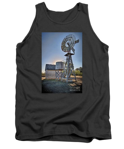 Lbj Homestead Windmill Tank Top